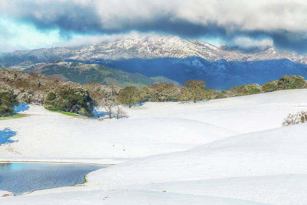 Photograph - East Bay Snow by Marc Crumpler