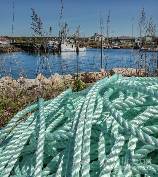 Photograph - East Boat Basin Sandwich by Michelle Constantine