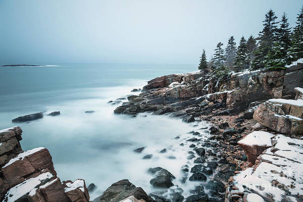 Acadia National Park Wall Art - Photograph - East Coast Winters by Evelina Kremsdorf