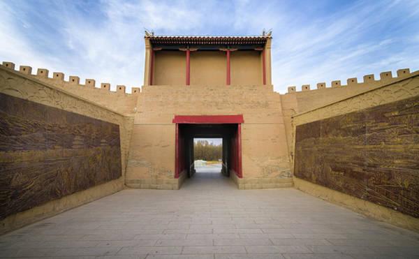 Photograph - East Gate Guan City Jiayuguan Gansu China by Adam Rainoff