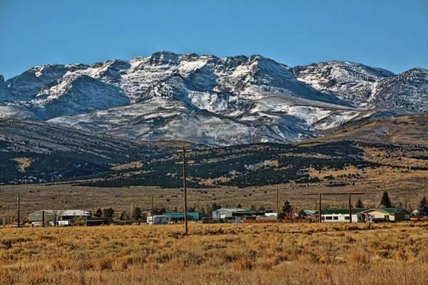 Camera Raw Photograph - East Humboldt Range Nevada by Brenton Cooper