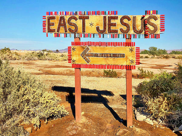 Wall Art - Photograph - East Jesus by Dominic Piperata