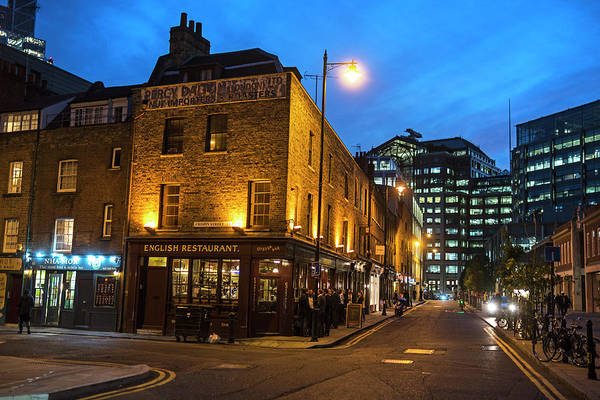 Photograph - East London Nightlife London Uk United Kingdom England by Toby McGuire