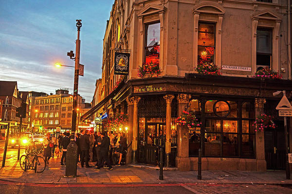 Photograph - East London Nightlife Ten Bells Fournier Street London Uk United Kingdom by Toby McGuire