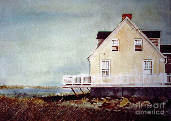 Painting - East Of Newberry Port by Monte Toon