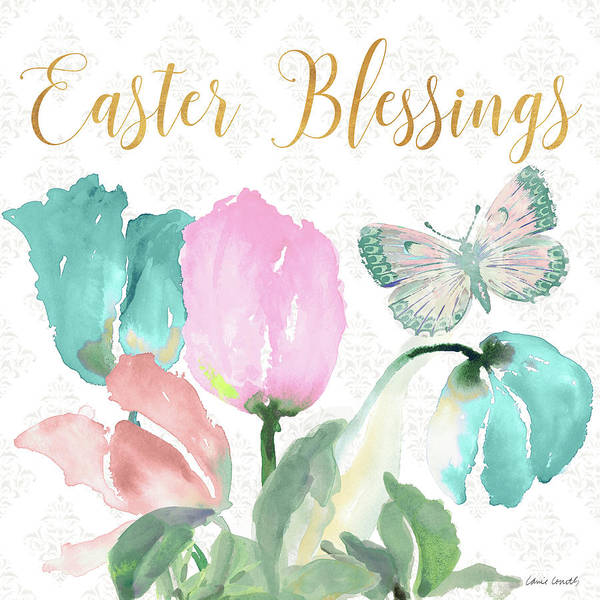 Wall Art - Mixed Media - Easter Blessings by Lanie Loreth