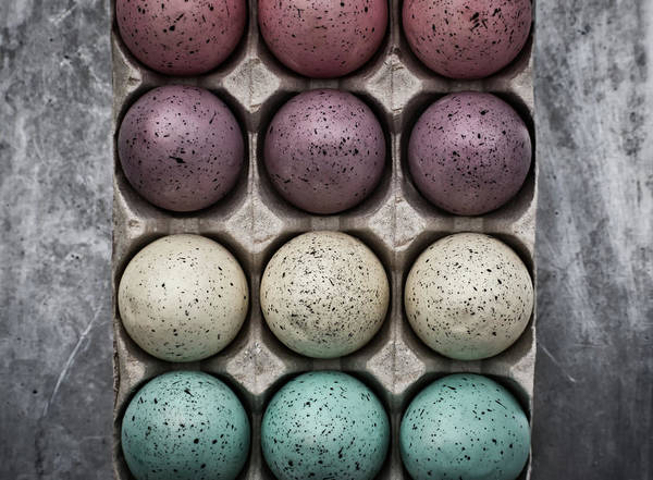 Photograph - Easter Eggs 30 #moody by Andrea Anderegg