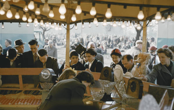 Photograph - Easter Fair by Bert Hardy