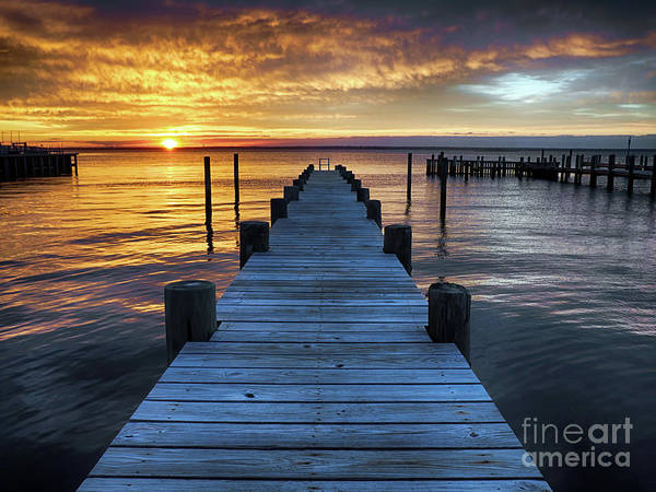 Photograph - Easter Sunday Sunset On Long Beach Island by Mark Miller