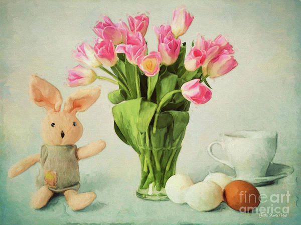 Digital Art - Easter Time by Jutta Maria Pusl