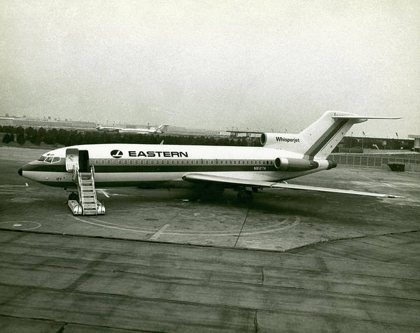 The Past Photograph - Eastern Airlines Plane by George Marks