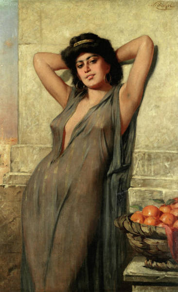 Beauty Wall Art - Painting - Eastern Beauty by Nathaniel Sichel