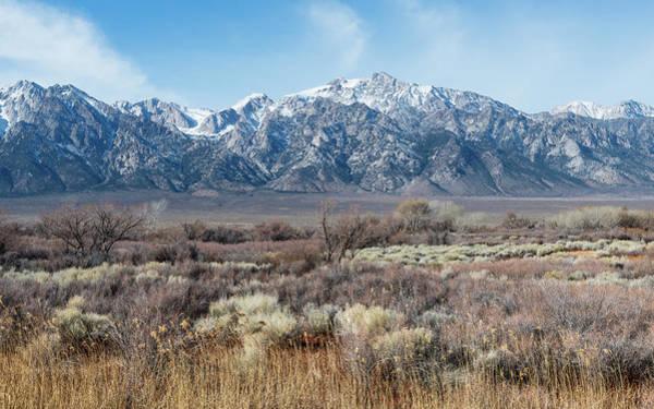 Wall Art - Photograph - Eastern Sierra Nevada by Joseph Smith