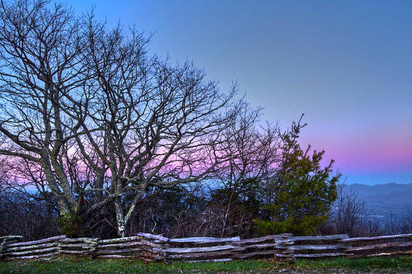 Photograph - Eastern Skies At Wayah Bald by Debra and Dave Vanderlaan