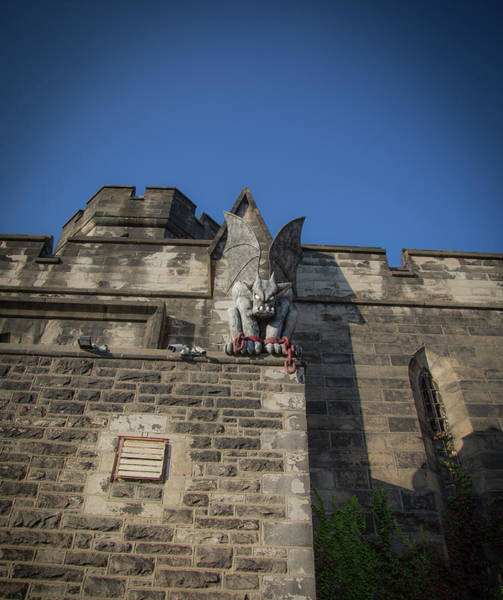 Wall Art - Photograph - Eastern State And The Gargoyle by Lora J Wilson