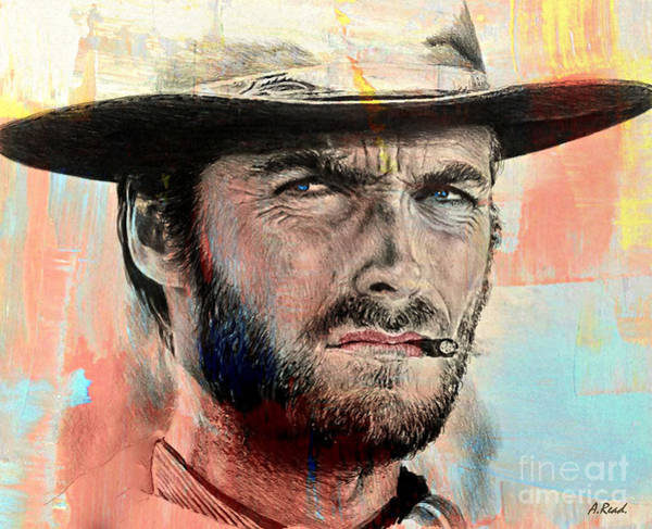 Wall Art - Mixed Media - Eastwood Paint Edit by Andrew Read