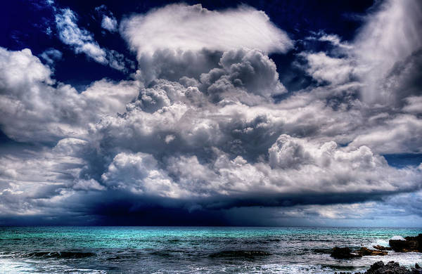 Isla Mujeres Photograph - Easy Forecasts, It Will Storm by Riccardo Mantero