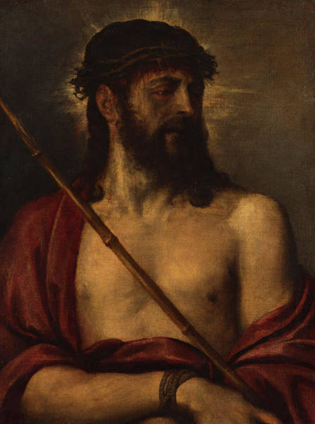 Titian Painting - Ecce Homo, 1560 by Titian
