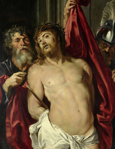 Wall Art - Painting - Ecce Homo, 1857 by Peter Paul Rubens