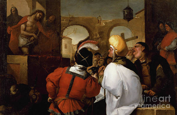 Condemned Wall Art - Painting - Ecce Homo by Luca Giordano