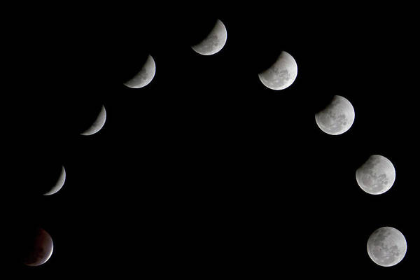 Karnataka Photograph - Eclipse by Amith Nag Photography