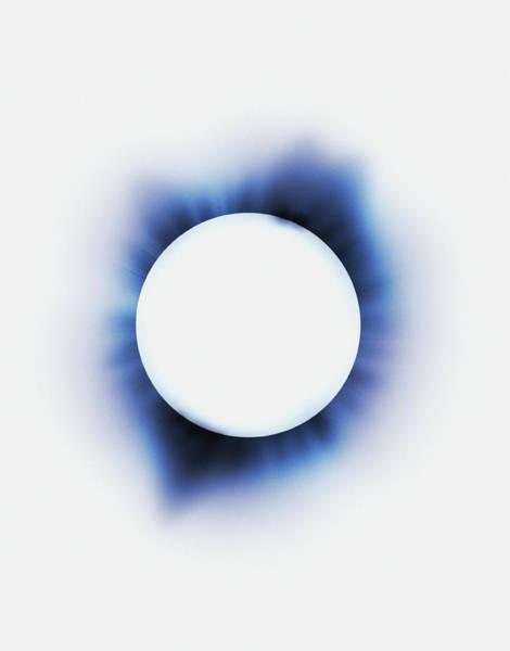 Digital Image Digital Art - Eclipse Digital by Chad Baker