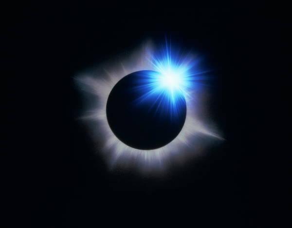 Color Image Digital Art - Eclipse Of Sun Cg by Takashi Hagihara/amanaimagesrf