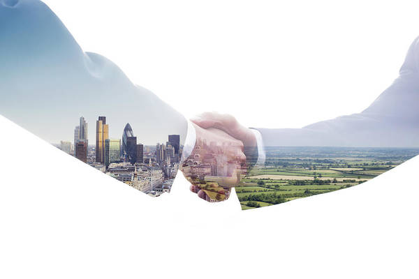 Environmental Issue Wall Art - Photograph - Eco Handshake by Tim Robberts