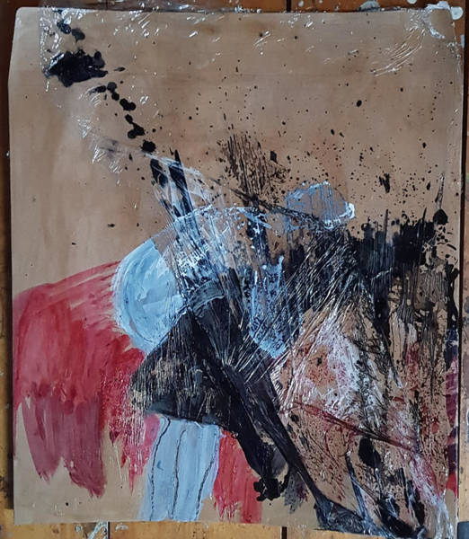 Mixed Media - Ecstacy Executioner by Siobhan Dempsey