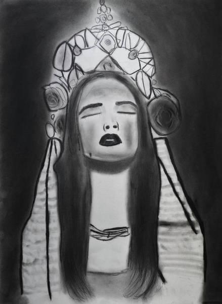 Drawing - Ecstasy by Nadija Armusik