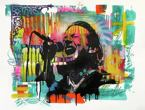 Painting - Eddie Vedder by Dean Russo Art