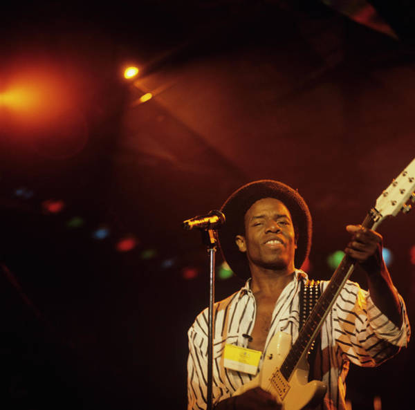 Photograph - Eddy Grant Performs On Stage by David Redfern