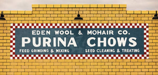 Wall Art - Photograph - Eden Wool - Purina Chows #1 by Stephen Stookey