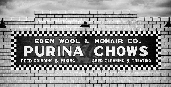 Wall Art - Photograph - Eden Wool - Purina Chows #2 by Stephen Stookey