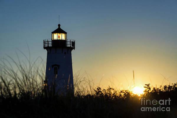 Wall Art - Photograph - Edgartown Lighthouse Sunrise by John Greim