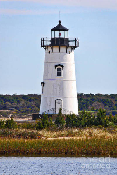 Photograph - Edgartown Lighthouse Vertical by Carol Groenen