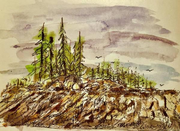 Painting - Edge Of Glory by Barry Jones