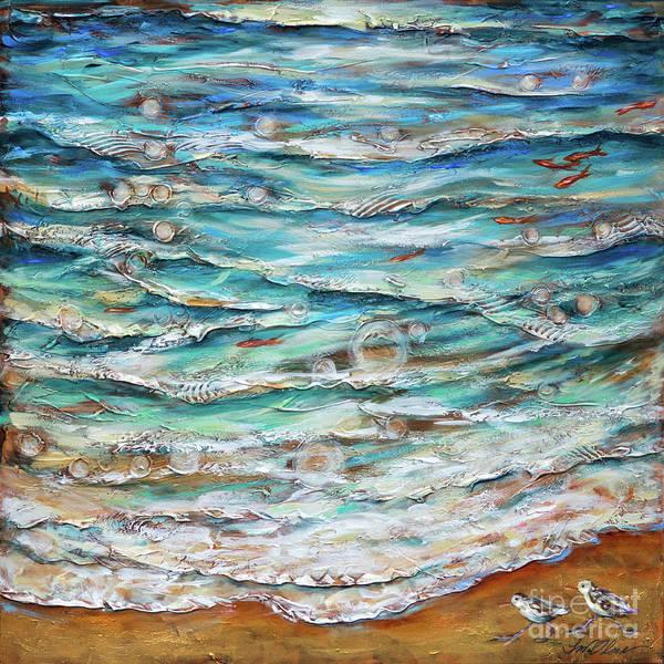 Painting - Edge Of Tide by Linda Olsen