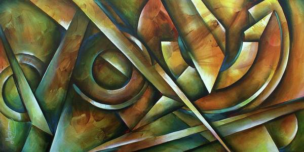Wall Art - Painting -  Edges by Michael Lang