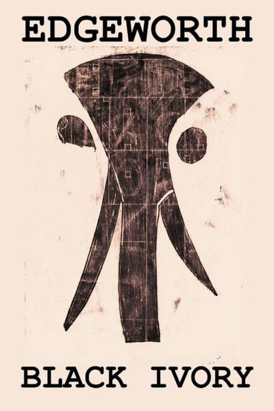 Digital Art - Edgeworth Black Ivory Poster A by Artist Dot