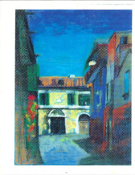Pastel - Edifici by Suzanne Cerny