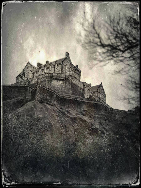 Photograph - Edinburgh Castle by Dave Bowman
