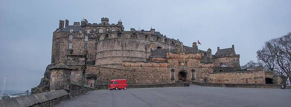Photograph - Edinburgh Castle - Scotland by Bill Cannon