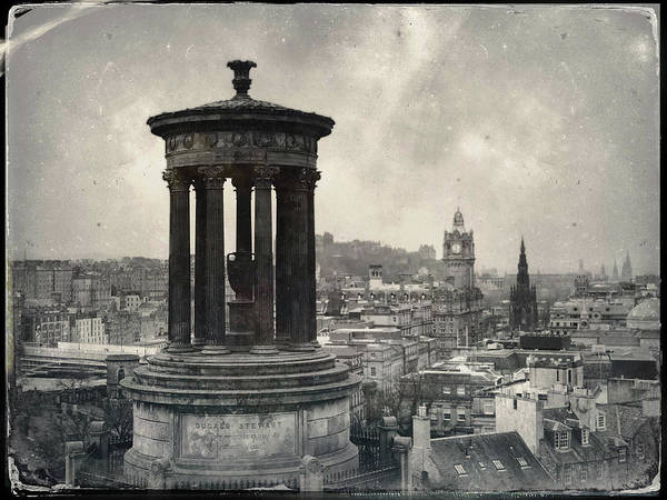Wall Art - Photograph - Edinburgh From Calton Hill I by Dave Bowman
