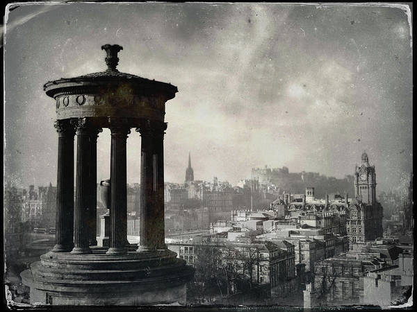 Wall Art - Photograph - Edinburgh From Calton Hill II by Dave Bowman