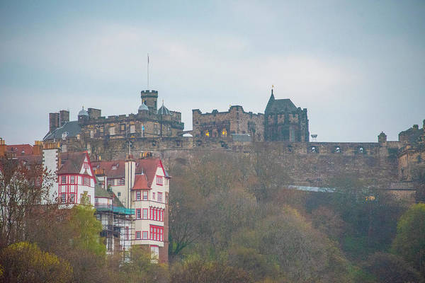 Photograph - Edinburgh Scotland - Castle Hill by Bill Cannon