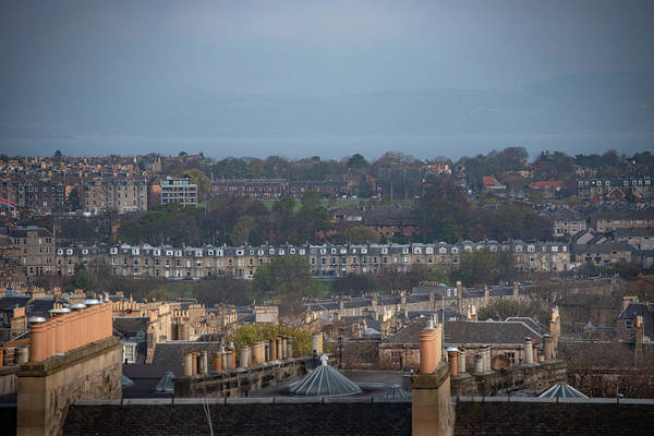 Photograph - Edinburgh Scotland Cityscape by Bill Cannon