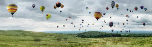 Wall Art - Photograph - Edit 24 Balloon Race by Brian Wallace