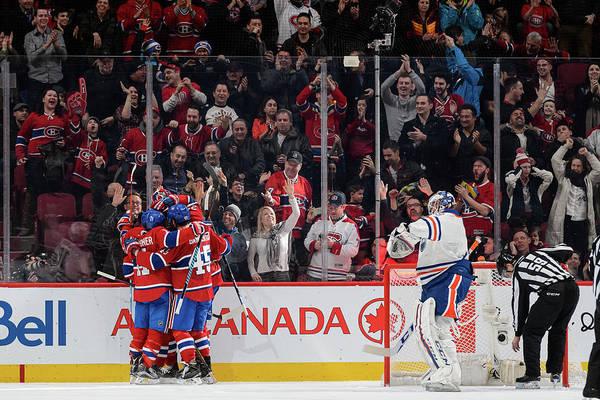 Montreal Photograph - Edmonton Oilers V Montreal Canadiens by Minas Panagiotakis
