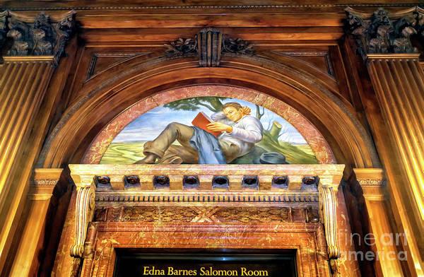 Photograph - Edna Barnes Salomon Room At The New York Public Library by John Rizzuto